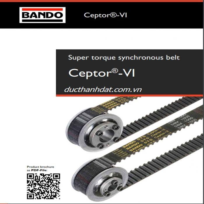 dây curoa bando Ceptor-VI S8M 1000