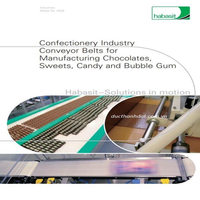 băng tải habasit ngành bánh kẹo