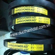 Cấu tạo và thông số Kt các loại dây curoa 3V 5V 8V
